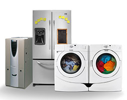 Various home appliances are shown.