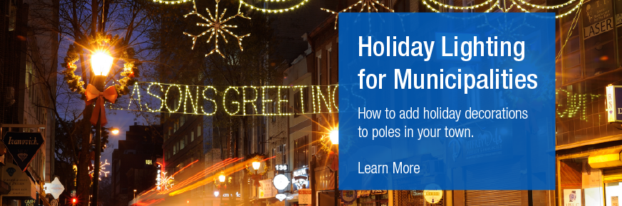 Holiday Lighting for Muncipalities - PSE&G