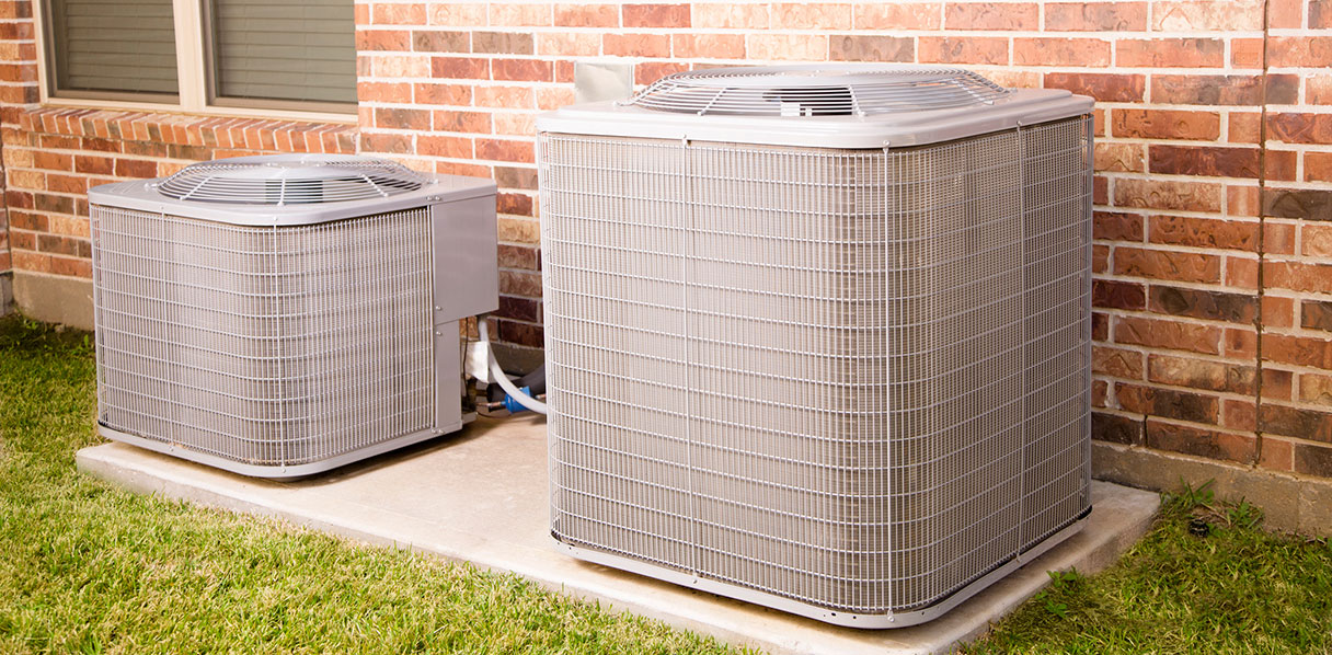 Outdoor HVAC units