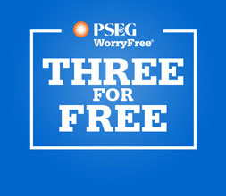 PSE&G WorryFree Heating Protection Plans - Get the First 3 Months Free!