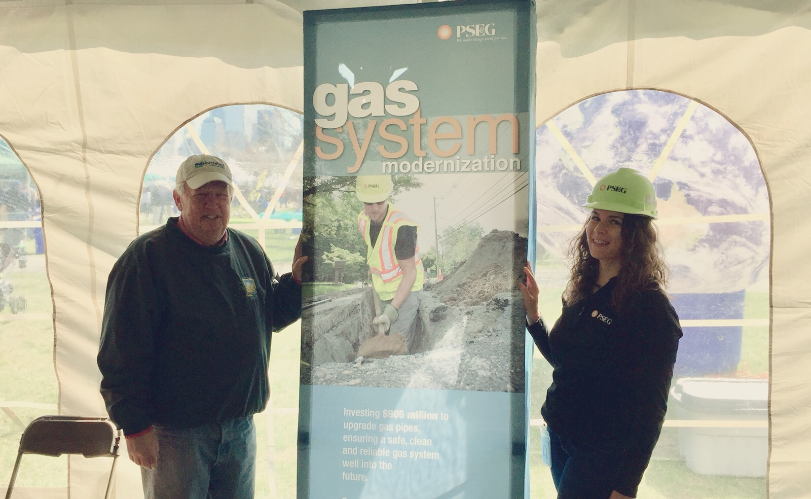 Earth Day - Hudson County, April 2018 - PSE&G Gas Construction Outreach